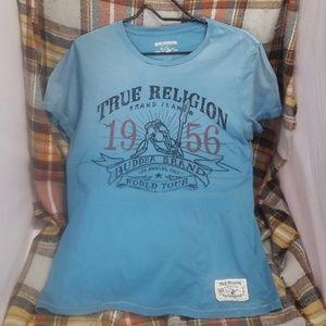 True Religion womens tee sz. 1
